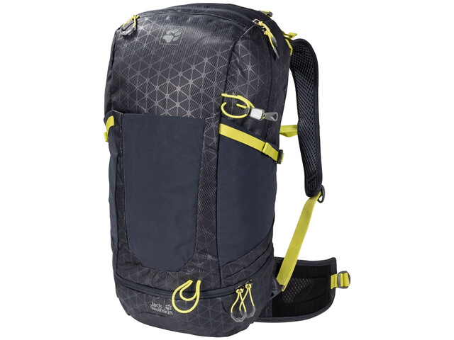 Jack Wolfskin Kingston 30 Pack, ebony grid